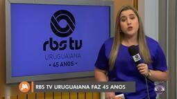 RBS TV Uruguaiana completa 45 anos