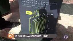 Mudanças nas regras da bagagem de mão passam a valer no próximo mês