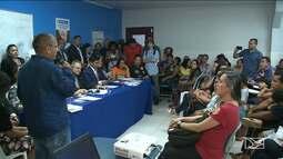 Audiência pública discute a greve de professores de Paço do Lumiar