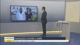 Baixada Santista está bom baixa adesão à campanha da gripe