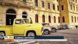 Encontro de Carros Antigos é realizado em Nova Friburgo