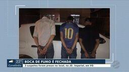 Polícia fecha boca de fumo e prende três suspeitos por tráfico em Várzea Grande