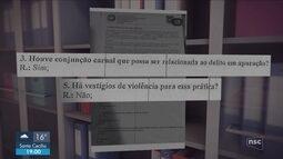 Jovem que denunciou estupro em beach club de Florianópolis divulga laudo pericial