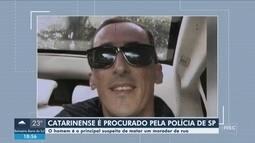 Empresário de SC suspeito de matar morador de rua em São Paulo é procurado pela polícia
