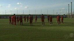 CRB se prepara para jogo contra o Vila Nova