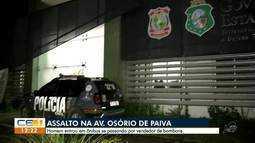 Homem se passa por vendedor de bombom e assalta ônibus em Fortaleza