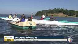 Projeto esportivo náutico é lançado em Campos, no RJ