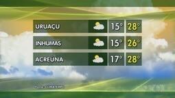 Veja como fica a previsão do tempo em Goiás
