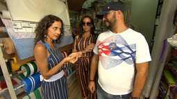 Maria Menezes conhece os comerciantes pitorescos do Taboão