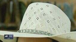 Reportagem da EPTV mostra a tradição do uso de chapéu em Três Corações
