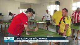 Torneio de futebol de botão reúne botonistas em Campos, no RJ