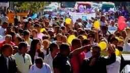 Marcha pra Jesus reúne mais de quatro mil pessoas em Divinópolis