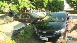 Veículos são apreendidos durante operação policial em São Luís