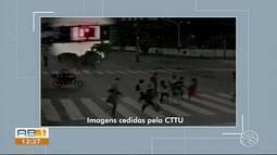 Motorista atropela e mata idosa em cadeira de rodas em faixa de pedestre no Recife