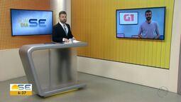 Anderson Barbosa conta as principais notícias do G1 Sergipe nesta quarta-feira