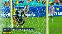 Colômbia mantém 100% e Argentina se classifica na Copa América
