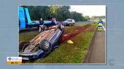 Três crianças são arremessadas de veículos em acidentes de trânsito no RS