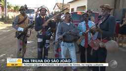 Conheça os festejos juninos do povoado de Simão, na zona rural Vitória da Conquista