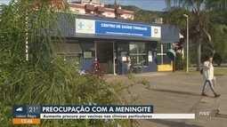 Busca por vacina contra meningite cresce após casos confirmados em SC