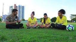 Programão traz uma copa de futebol feminino para o campo desta tarde de sábado