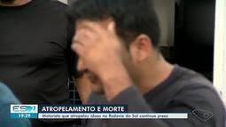 Ciclista atropelada na Rodovia do Sol recebe alta no ES
