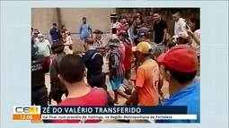 Zé do Valério é transferido para presídio de Itaitinga