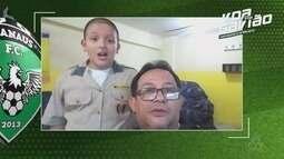 Voa, Gavião! Novos recados do torcedor amazonense para o Manaus
