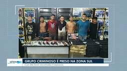 Grupo Marte interdita rua na Zona Sul para desativar artefatos explosivos em Manaus