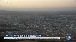 Vitória da Conquista deve registrar a temperatura mais baixa do ano nesta sexta-feira