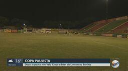 Copa Paulista: Velo Clube enfrenta o Inter de Limeira no Benitão