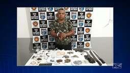 Homem é preso em Igarapé-MA por tráfico de drogas