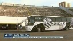 Comercial volta ao Palma Travassos contra o Mirassol pela Copa Paulista