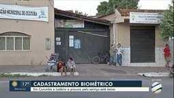 Procura pela biometria em Corumbá e Ladário está baixa