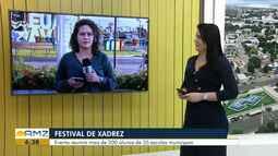 Festival de Xadrez chega a 3ª edição na rede municipal de ensino em Boa Vista