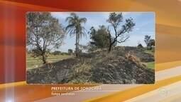 Focos de incêndio provocam fumaça e incomodam moradores do Éden em Sorocaba