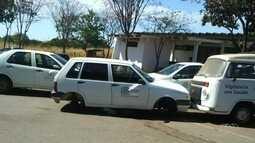 Roda é furtada de um carro da secretaria de Saúde de Goiânia