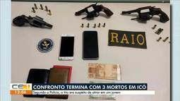 Confronto com a PM termina com 3 mortos em Icó