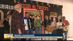 Troféu Gonzagão; organização do evento visita escolas para divulgar cultura nordestina