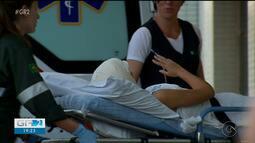 Menina que teve o cabelo arrancado ao andar de Kart está em uma UTI de Ribeirão Preto