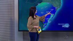 Quarta-feira (21) amanhece com temperaturas baixas em cidades do RS