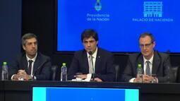 Novo ministro da Economia da Argentina se reúne com integrantes da oposição