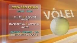 Sorocaba sedia competições da Copa São Paulo de Vôlei masculino