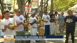 Evento celebra 100 anos de Jackson do Pandeiro com capoeira e cultura popular, em CG