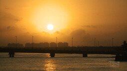 O pôr do sol único e encantador da capital do Maranhão