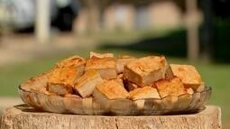 'Receita Nosso Campo': Aprenda a fazer um pudim de pão