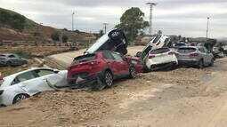 Sul da Espanha ainda sente efeito de enchentes