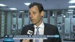 Aeroportos de Joinville e Navegantes devem ser privatizados em 2020; secretário detalha