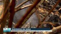 Queimadas preocupam regiões da Serra do Rio