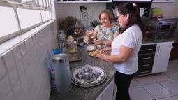 Amor pela culinária passa de mãe para filhas e netos