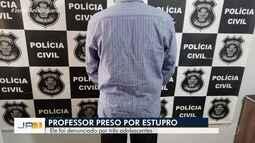 Professor de música é preso suspeito de abusar de alunas em Acreúna